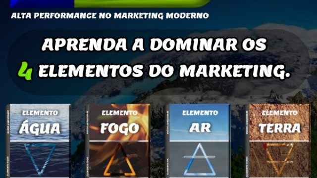 Aprenda a dominar os 4 elementos do marketing.