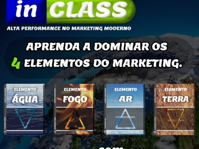 Aprenda a dominar os 4 elementos do marketing.
