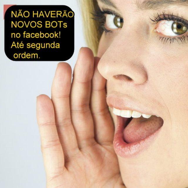 Notícia Bombástica! Facebook paralisa criação de novos chatbots nas suas páginas!