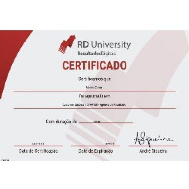 Certificação Agência de Sucesso